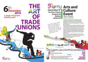 The Art Of Trade Unions – Conference 6th December